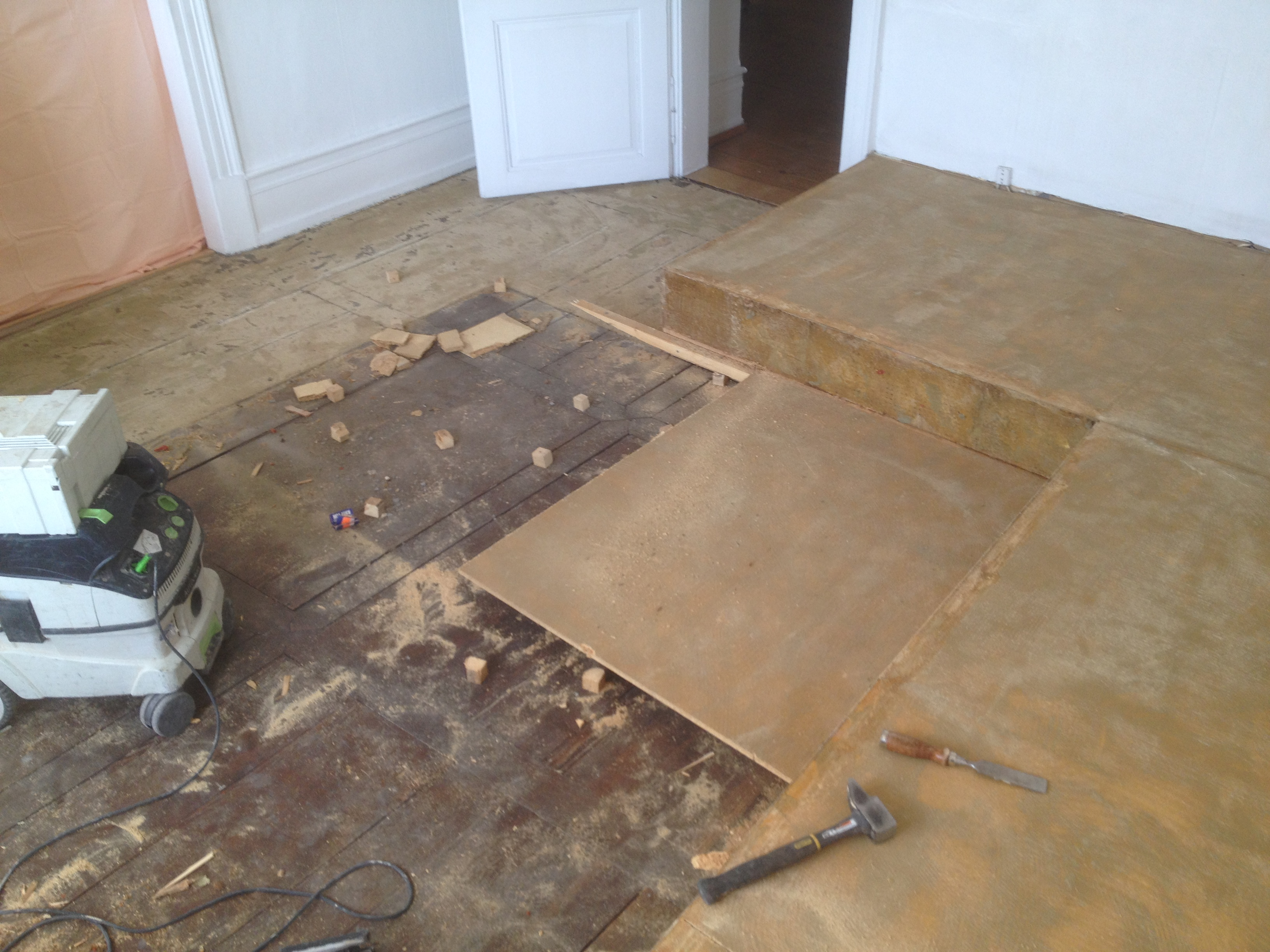 Pon age de parquet - Renovation parquet ancien ...